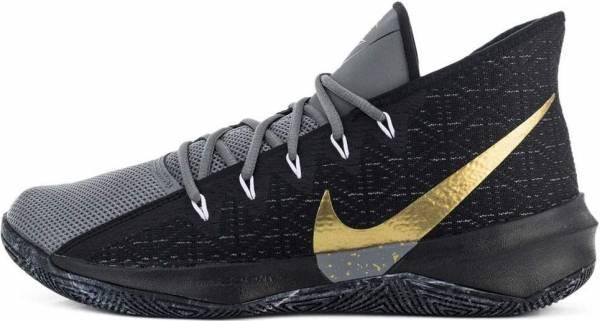 Nike Zoom Evidence 3 - Multicolore Black Metallic Gold Cool Grey White 000 (AJ5904006)