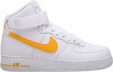 Nike Air Force 1 High 07 3 - White/University Gold