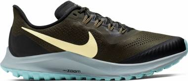 Nike Air Zoom Pegasus 36 Trail - Cargo Khaki/Team Gold-black