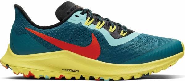 Nike Air Zoom Pegasus 36 Trail - Geode Teal/Bright Crimson-black