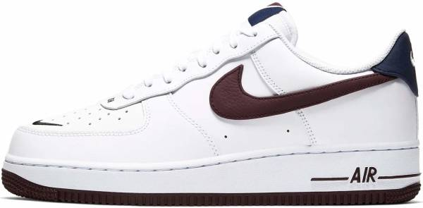 Nike Air Force 1 07 LV8 4 - White/Night Maroon-obsidian