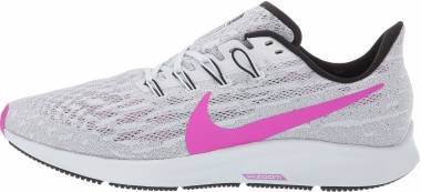 Nike Air Zoom Pegasus 36 - Pure Platinum / Hyper Violet / Cool Grey