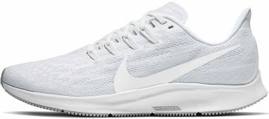 Nike Air Zoom Pegasus 36 - White/White-half Blue-wolf Grey (BV1773100)