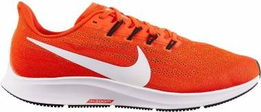 Nike Air Zoom Pegasus 36 - Laser Crimson White Lt Smoke Grey