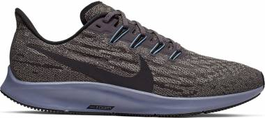 Nike Air Zoom Pegasus 36 - Multicolour Thunder Grey Black Pumice Stellar Indigo 8 (AQ2203008)