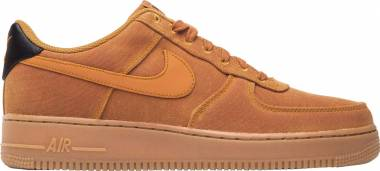 Nike Air Force 1 07 LV8 Style - Mehrfarbig Monarch Monarch Gum Med Brown Black 800 (AQ0117800)