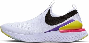 Nike Epic Phantom React Flyknit - White (CI1290100)