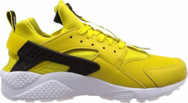 nike air huarache black yellow