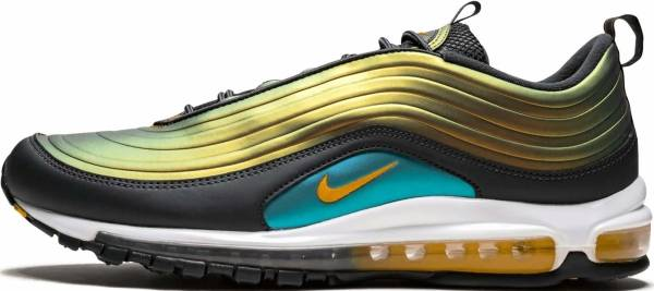 Apoyarse Activo Noche  Nike Air Max 97 LX sneakers in grey + black (only $92) | RunRepeat