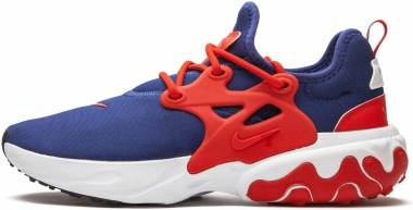 Nike React Presto - Obsidian/University Red/White (CW5586400)