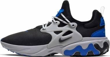 Nike React Presto - Black/Black-racer Blue-atmosphere Grey (AV2605005)