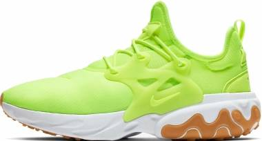 Nike React Presto - Volt/White-gum Light Brown-vol (AV2605702)