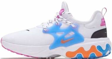 Nike React Presto - White/Magma Orange-black (CW7053100)