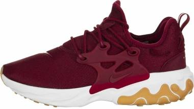 Nike React Presto - Team Red/White-gum Light Brown (AV2605601)