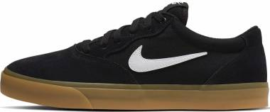 Nike SB Chron Solarsoft - Black White Black Black