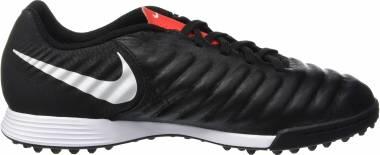 Nike LegendX 7 Academy Turf - Black Black Pure Platinum Lt Crimson 006 (AH7243006)