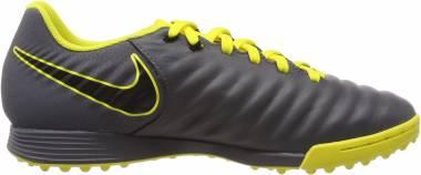 Nike LegendX 7 Academy Turf - Gris Dark Grey Black Opti Yellow 070 (AH7243070)