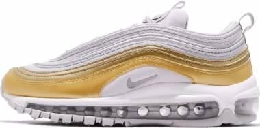 Nike Air Max 97 SE - Multicolore (Vast Grey/Metallic Silver-metallic Gold 001) (AQ4137001)