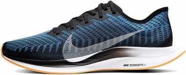 Nike Zoom Pegasus Turbo 2 - Black / White / University Blue / Laser Orange