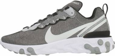 Nike React Element 55 SE  - White/Pure Platinum-wolf Grey-black (CD2153100)