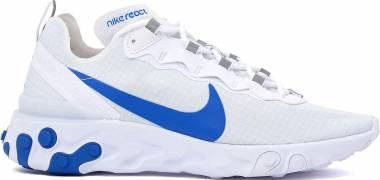 Nike React Element 55 SE - WHITE/GAME ROYAL (BQ6167100)