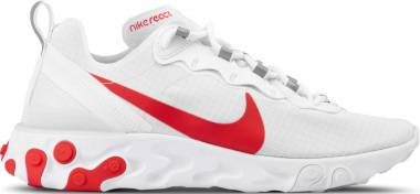 Nike React Element 55 SE  - White/University Red