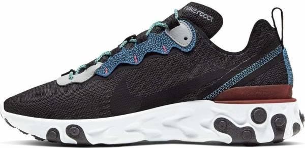 Nike React Element 55 SE - Anthracite Blue Fury Pure Platinum (CD2153001)