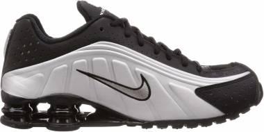 Nike Shox R4 - Black Black Metallic Silver Wolf Grey 104265 045 (104265045)