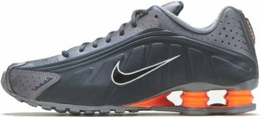 Nike Shox R4 - Anthracite/Total Orange-mtlc Cool Grey