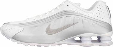 Nike Shox R4 - Multicolore White Metallic Silver Metallic Silver 131 (AR3565101)