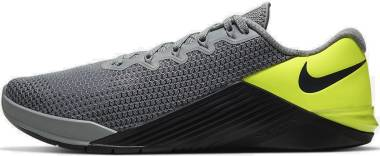 Nike Metcon 5 - Particle Grey/Dk Smoke Grey-barely Volt (AQ1189017)