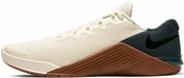 Nike Metcon 5 - Nero Pale Ivory Black Seaweed Lt Br 123 (AQ1189123)