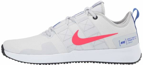 Nike Varsity Compete TR 2 - Pure Platinum/Red Orbit-white-racer Blue (AT1239005)