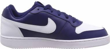 Nike Ebernon Low - Blue (Blue Void/White 401)