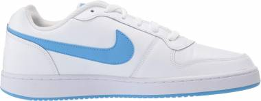 Nike Ebernon Low - White/University Blue
