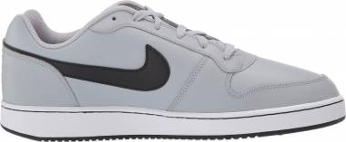 Nike Ebernon Low - Wolf Grey/Black - White (AQ1775005)