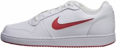 Nike Ebernon Low - White/University Red (AQ1775104)