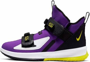 Nike LeBron Soldier 13 - Varsity Purple / Yellow (AR4225500)