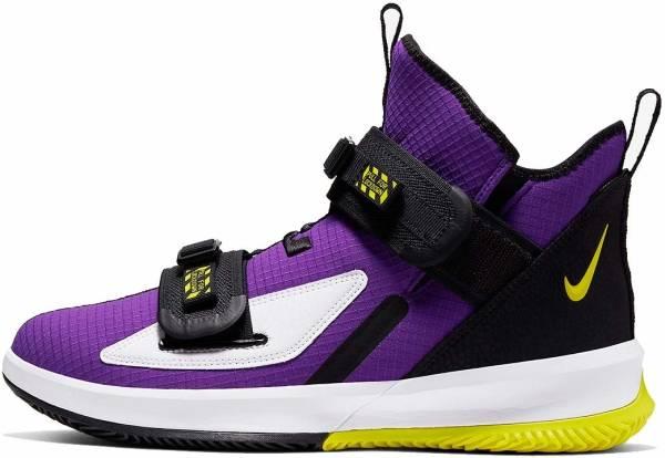 Nike LeBron Soldier 13 - Voltage Purple / Dynamic Yellow-black