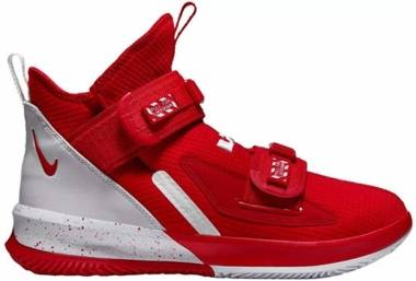 Nike LeBron Soldier 13 - University Red/White-white