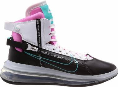 Nike Air Max 720 SATRN - Multicolore Black Hyper Jade White Bright Crimson 2 (AO2110002)