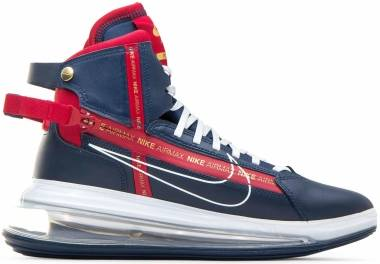 Nike Air Max 720 SATRN - Midnight Navy / White-Gym Red (AO2110400)