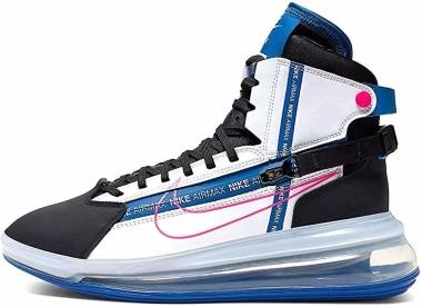 Nike Air Max 720 SATRN - White/Blue/Black/Pink (AO2110101)