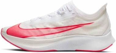Nike Zoom Fly 3 - White Laser Crimson Mtlc Summit Wht (AT8240101)