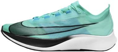 Nike Zoom Fly 3 - Aurora Green / Black / Chlorine Blue / White (AT8240305)
