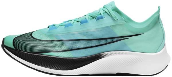 Nike Zoom Fly 3 - Aurora Green Black Chlorine Blue White (AT8240305)
