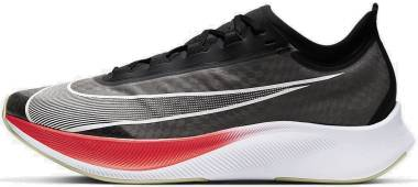 Nike Zoom Fly 3 - Black Laser Crimson Olive Aura White (AT8240003)