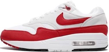Nike Air Max 1 - White Red (AQ0863100)