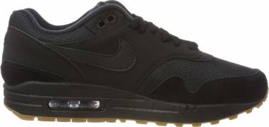 Nike Air Max 1 - Black Black Gum Med Brown 007 (AH8145007)