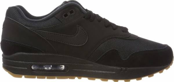 Nike Air Max 1 - Black Black Gum Med Brown 007 (AH8145007)